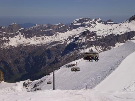 Ice Flyers at Mt Titlis