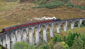 Scotland Train Harry Potter