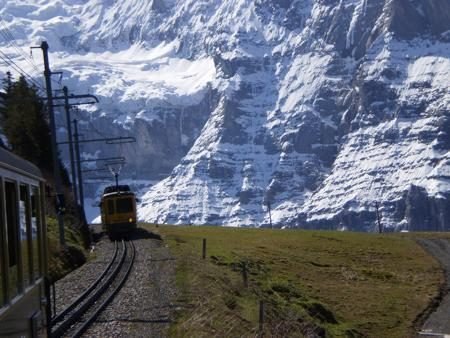 Switzerlan Train to Jungfrau
