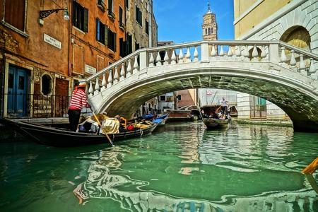 Canoeing in Venice