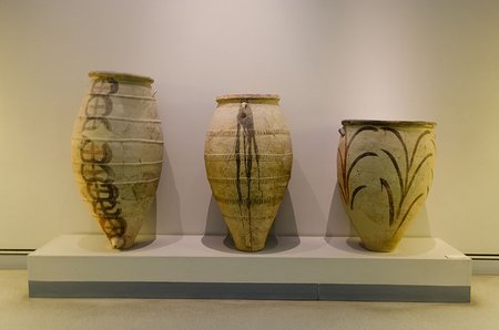 Neolithic Pottery, Museum of Prehistoric Thera