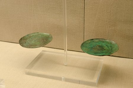 Weighing Dishes, Museum of Prehistoric Thera