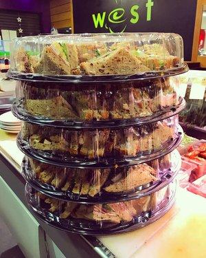 West Gourmet Sandwich Bar Platter